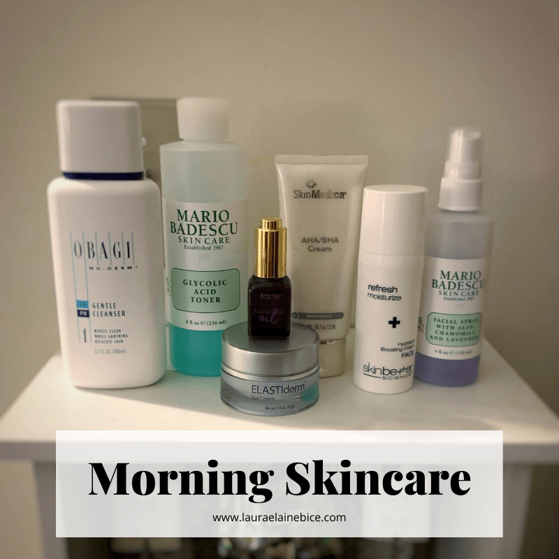 Morning Skincare Products