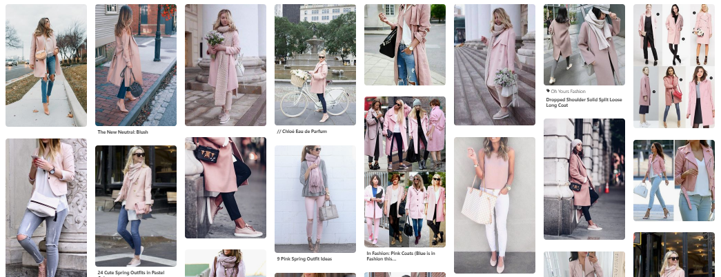 What We Want Wednesday Blush Pink Pinterest Inspo
