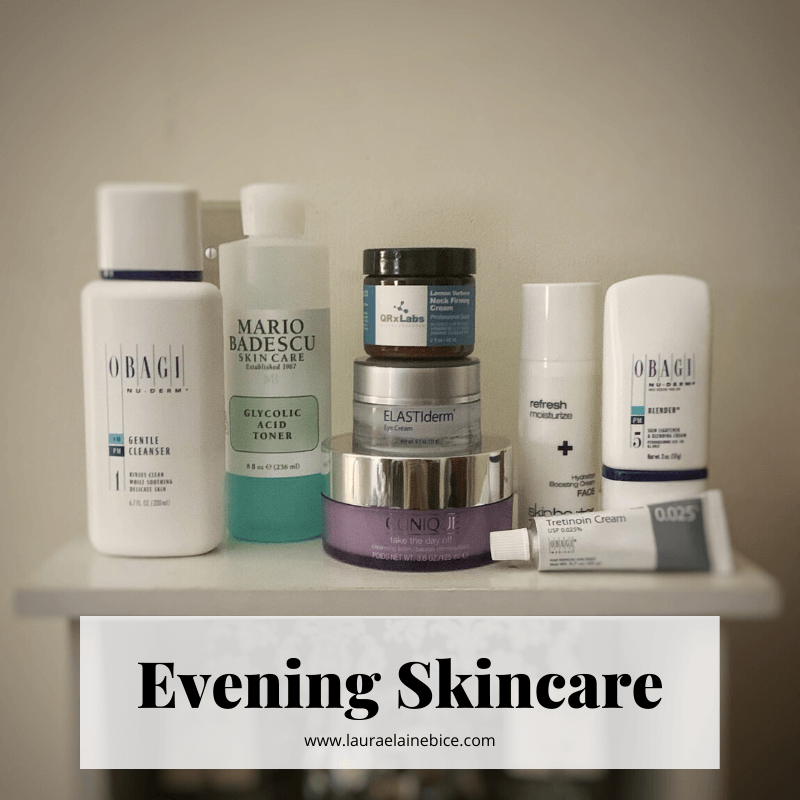 Evening Skincare Products