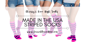 Made in the USA Striped Socks